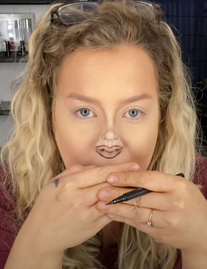 戴口罩想化「完美全妝」去約會?她教「隔離小臉妝」馬上爆紅!