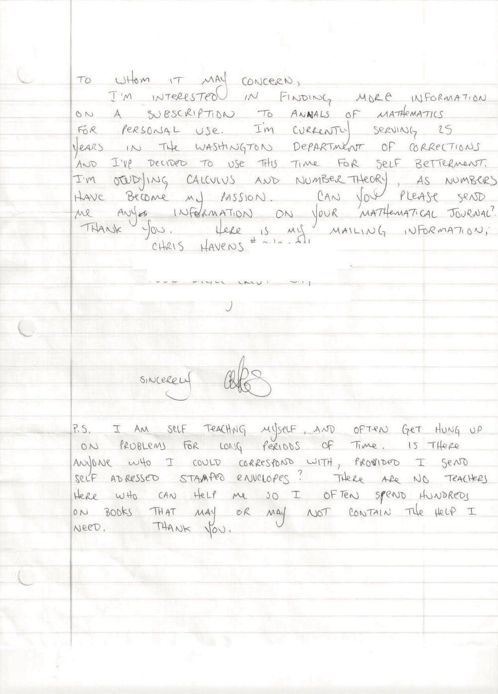 囚犯靠自學「變數學天才」在獄中「發表論文」專家也得請教他