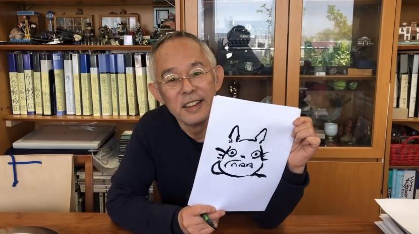 吉卜力教「《龍貓》怎麼畫」超簡單 網友:我打完哈欠就結束了