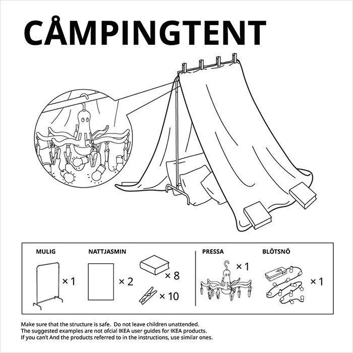 IKEA教在家怎麼蓋無敵城堡 曾經是「小孩」的大人都該學