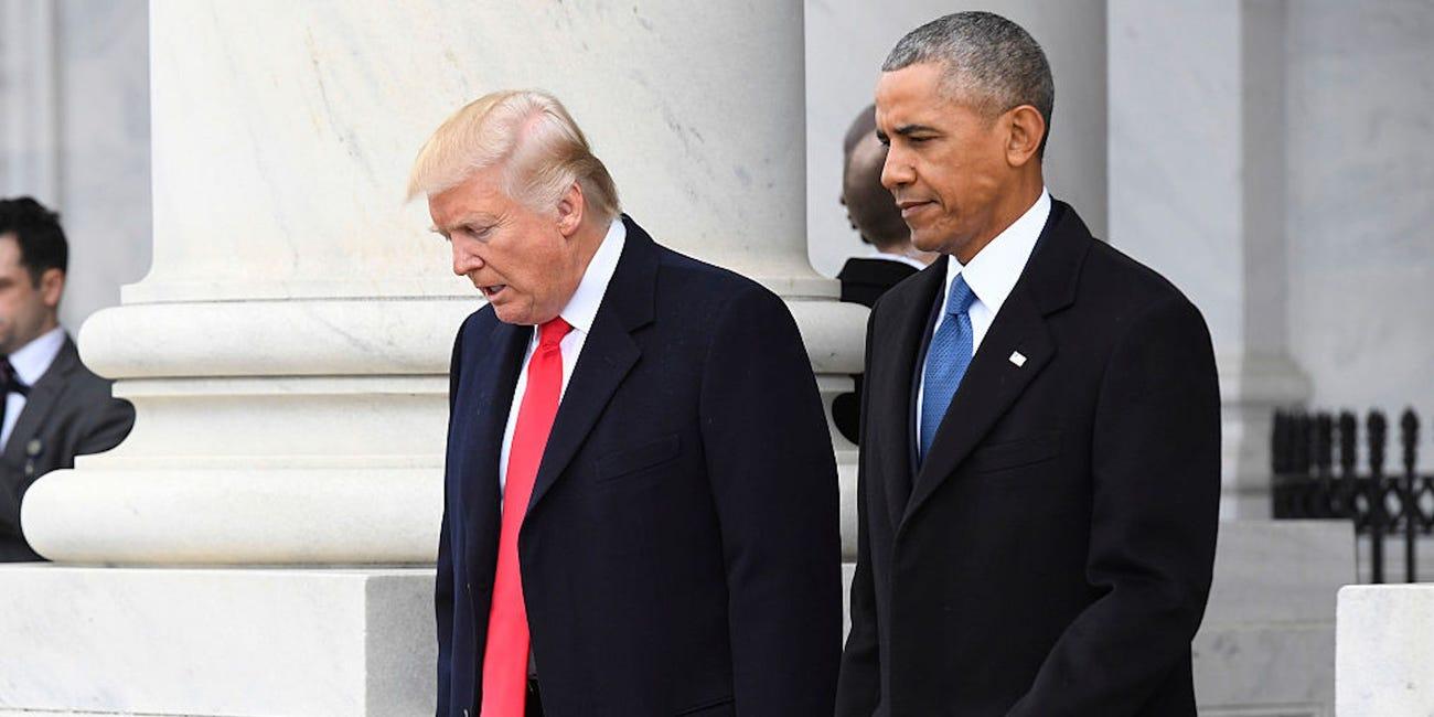 川普拒絕揭「歐巴馬畫像」眾人傻眼 打破「40年傳統」儀式!