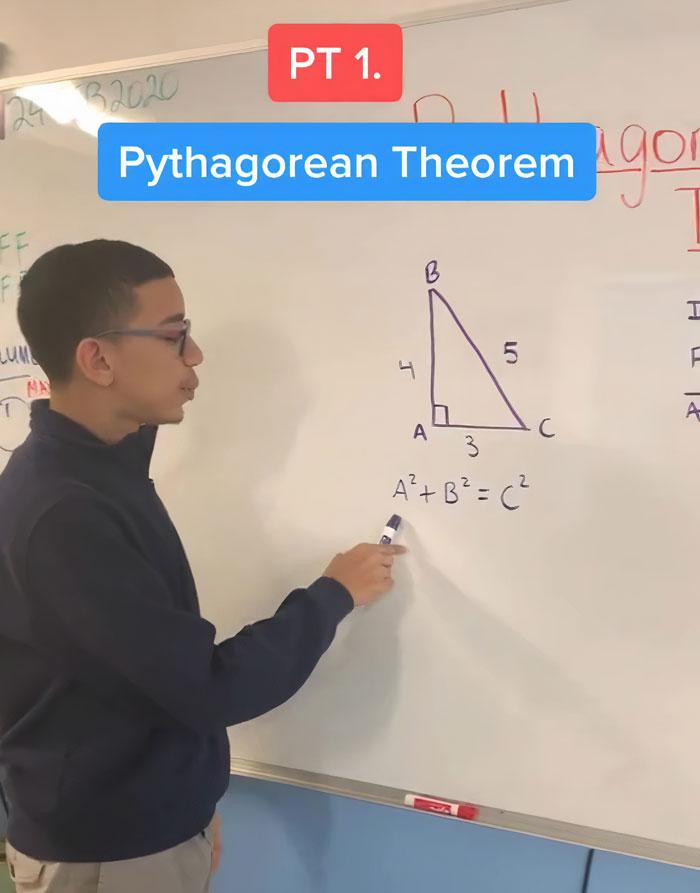 16歲抖音天才「教數學」爆紅 30秒讓你「搞懂三角函數」!
