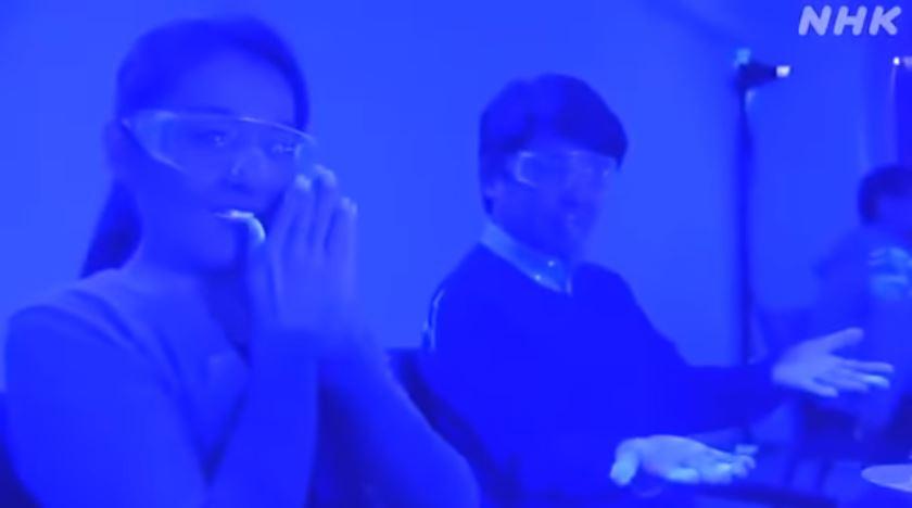 日媒做「吃飯就得武肺」恐怖實驗 才「半小時」病毒爬滿臉!