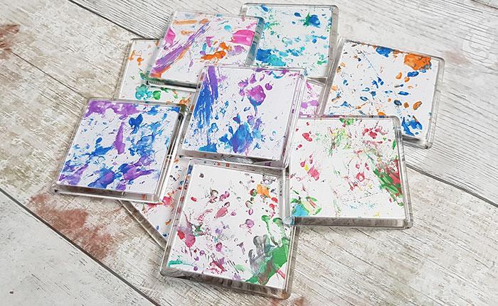老鼠「用肉掌畫畫」作品被搶賣光 揭開「創作過程」超廉價!