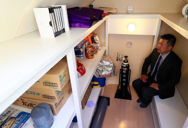 日男打造「神秘地下室」藏後院 「超豪華內裝」讓人想住一輩子!