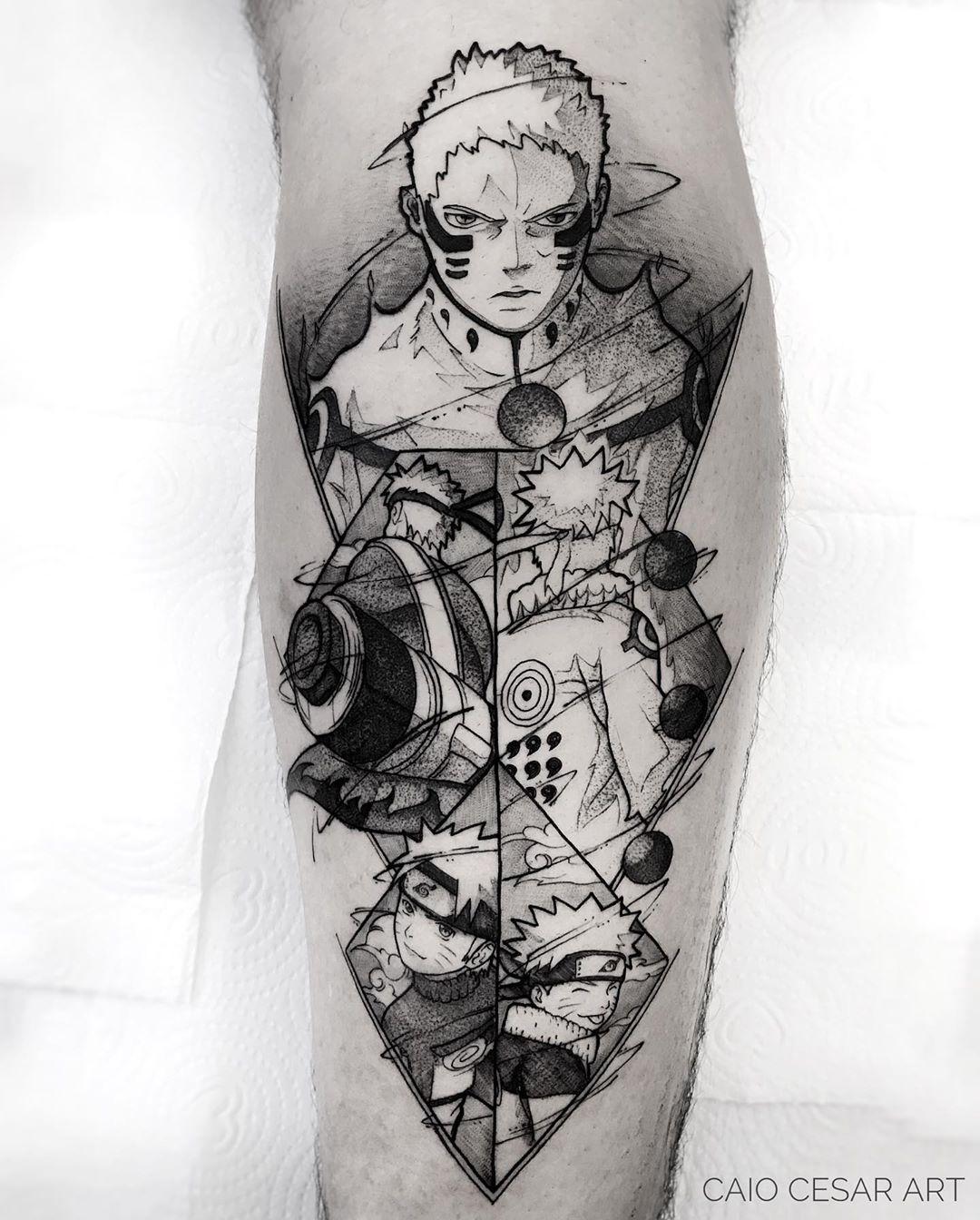 巴西刺青師「只用黑白線條」比動畫還精緻 龜派氣功成功發射!