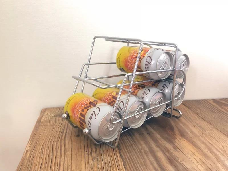 酒鬼必買!夏天超夯「啤酒收納架」 冰箱升級「自動補貨」功能