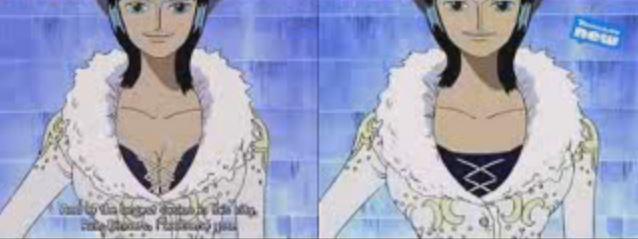 11個《航海王》「上電視被修改」的對比 魯夫嘴巴直接消失!