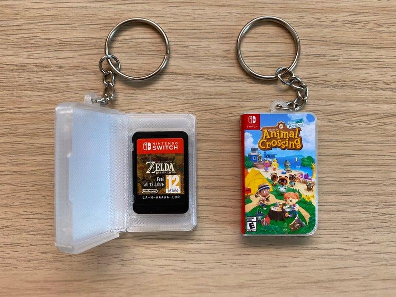 《動森》迷必入手!手工「Switch鑰匙圈」真的可以放遊戲