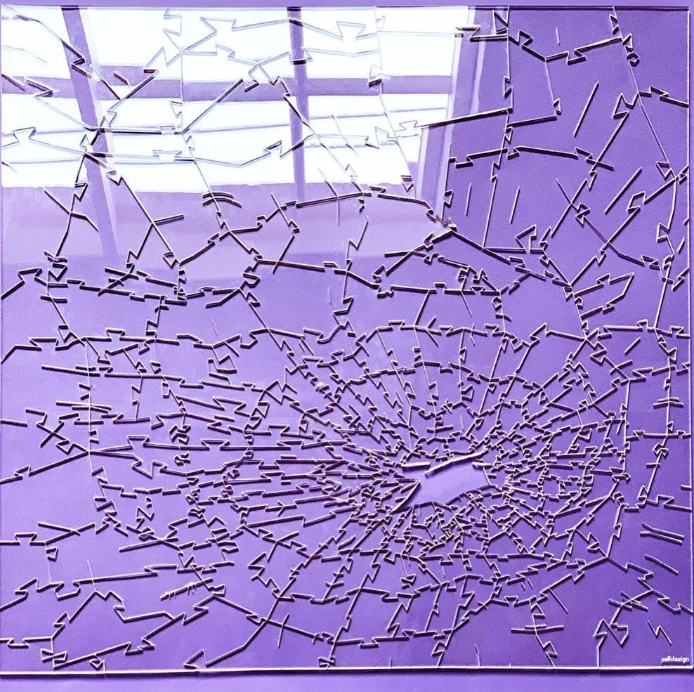 爆紅「碎玻璃拼圖」根本在耍人 設計師:每一片「都是難題」!