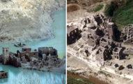 義大利「湖底鬼城」準備開放參觀 上次「浮出來」是26年前