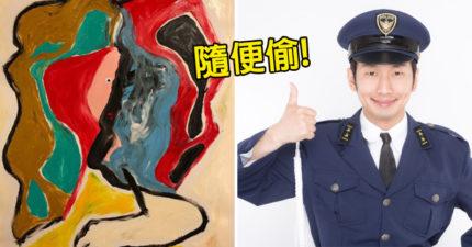 藝廊開放大家當「怪盜基德」 整間展品全都可以偷!
