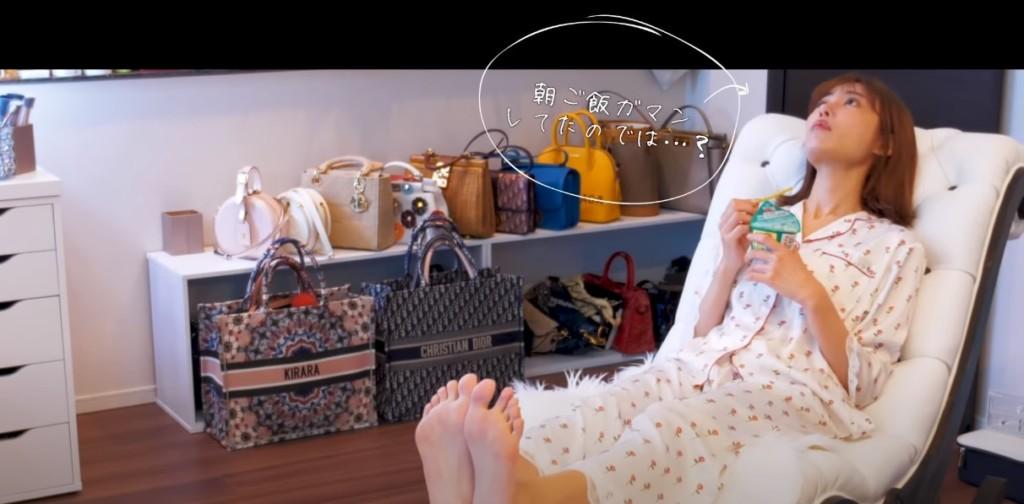前女優「轉行當網紅」 第一部片「百萬觀看」還曝光整櫃名牌!
