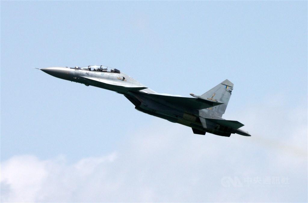 多架中共蘇愷30戰機「進入台灣空域」空軍緊急驅離!