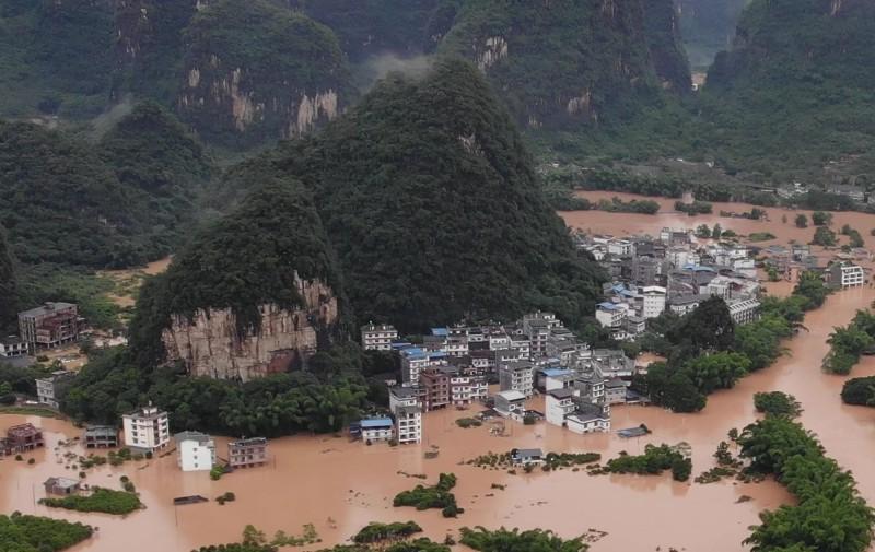 中國下一場暴雨多「852萬受災戶」政府傻眼:淹倒7千多棟樓