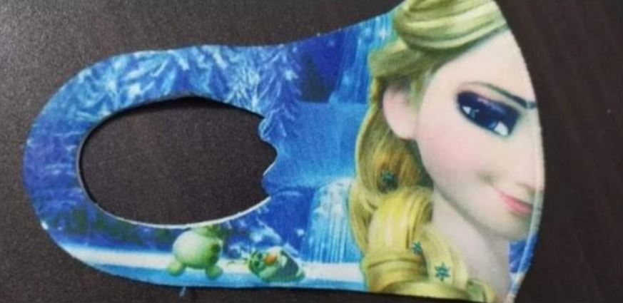 冰雪奇緣迷訂「艾莎口罩」 戴起來變「普丁」...崩潰到無力退貨