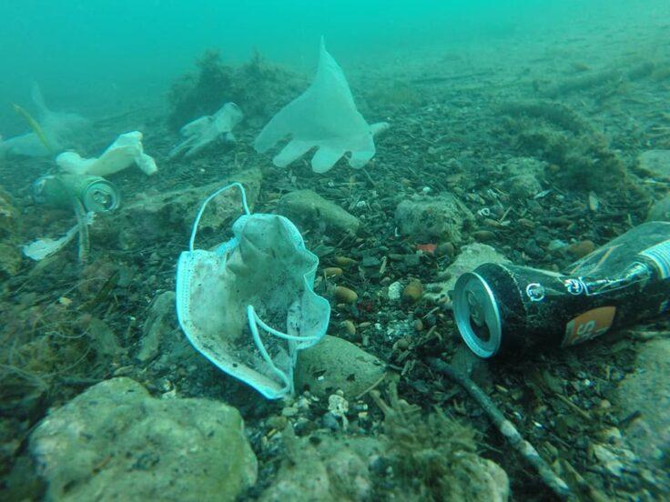 疫情讓地球變乾淨?海洋慘變「口罩掩埋場」數量快比水母多!