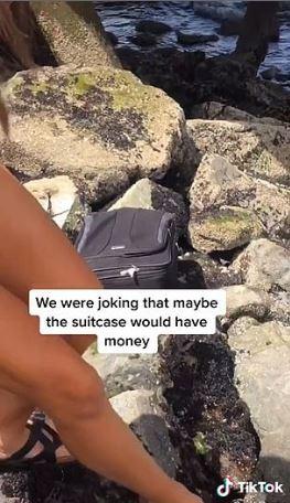 青少年玩「冒險遊戲」到指定地尋寶 意外找到「死神的行李箱」