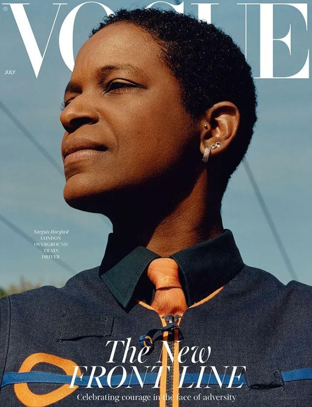 最新《VOGUE》讓「無名英雄」上封面:新時代模特兒!