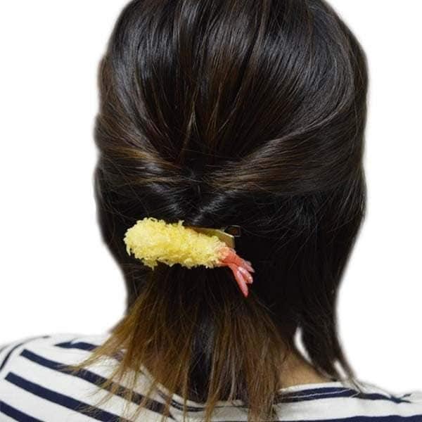 11種搞怪控必買「美食髮夾」讓每個女生都變超美味