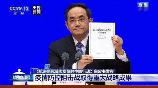 譚德賽拒幫「中國官媒」背書 眼神示意同事「快救援」超尷尬