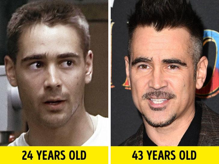 好萊塢男星 年輕