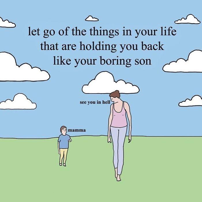 24張「辛普森插畫家」的WTF作品 解放被逼瘋的厭世媽媽!