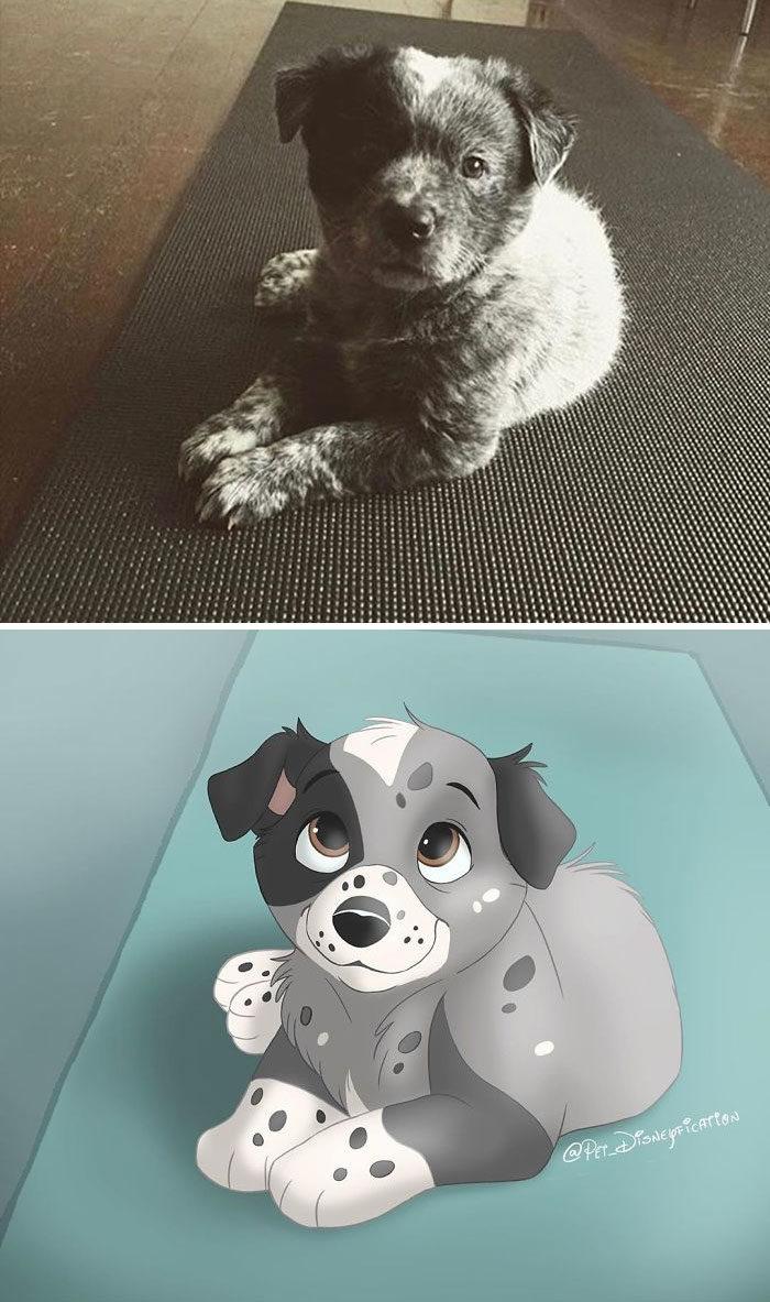 寵物照迪士尼化