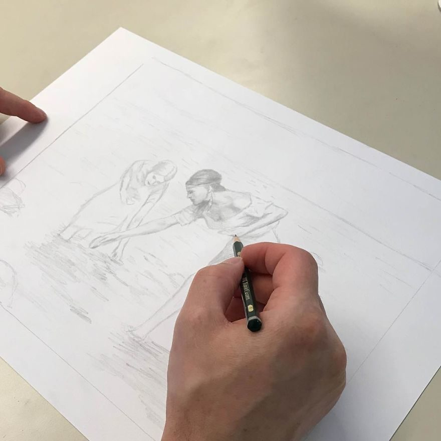 藝術天才用手畫「比雜誌封面精緻」 3歲展現天賦「高中能買車」