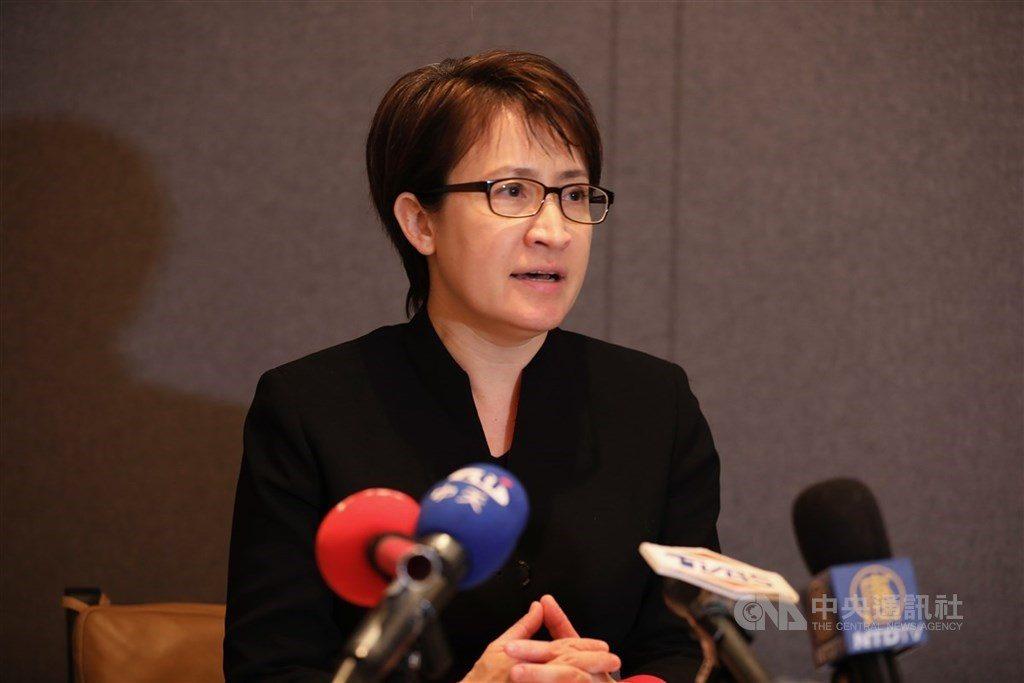 蕭美琴擔任駐美代表