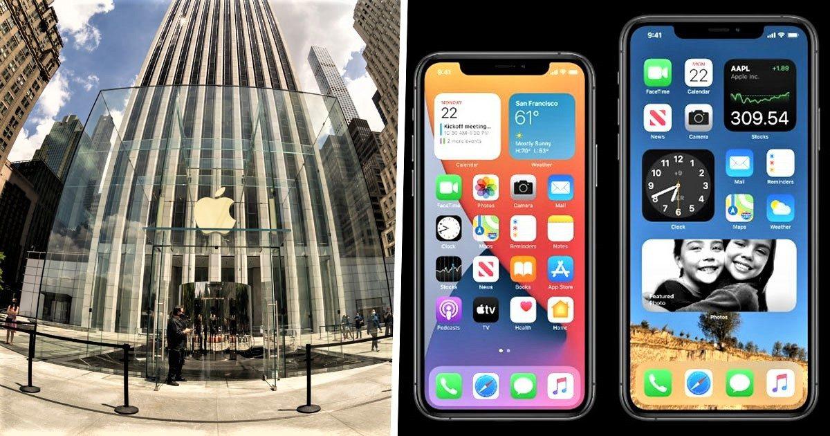 蘋果iOS14介面