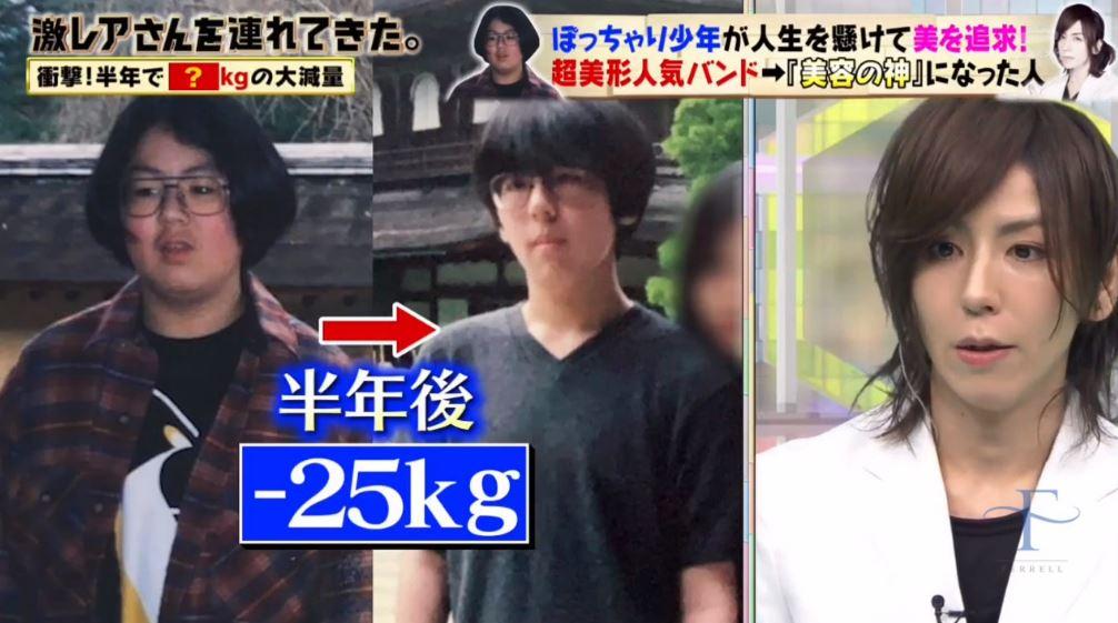 沒自信胖弟意外「被音樂感動」 半年「鏟肉25公斤」變視覺系男偶像