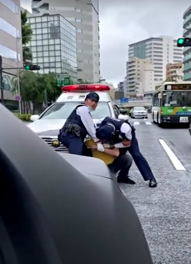 日本跟著「一起抗議」非裔壓頸案 外媒爆:當地發生一樣的事!