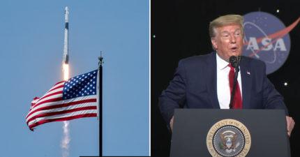 特斯拉執行長「聯手NASA」發射太空船 川普也想見證這一刻!