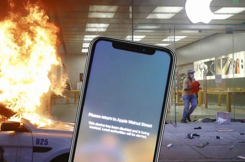蘋果門市被搶「iPhone全掃光」 官方用「一封訊息」讓他們乖乖還!