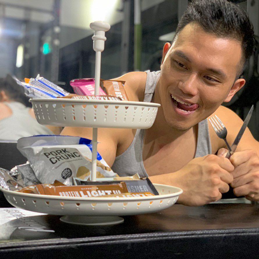 網人365/健身不是「為了變瘦」 健人蓋伊坦承最愛吃「冰淇淋」!