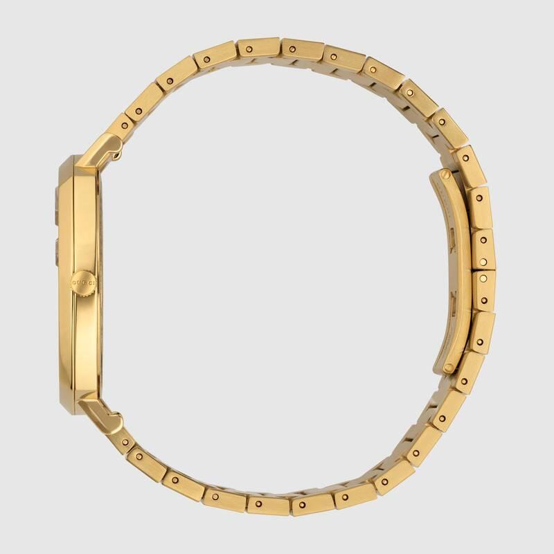 Gucci推出「土豪金手錶」被網罵醜:錶面像「菜市場秤肉的」