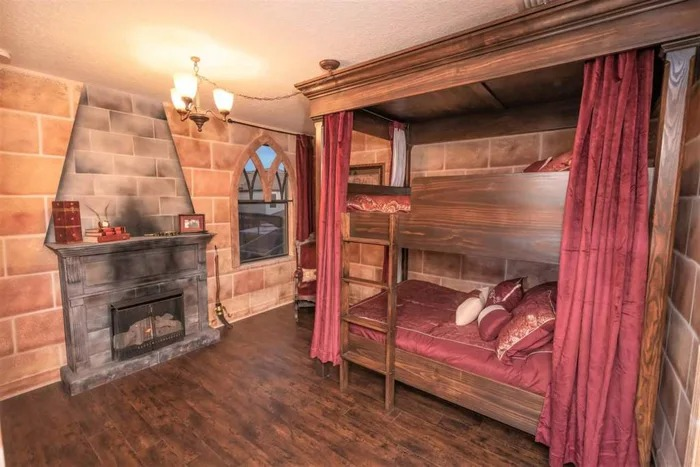 地表最狂「哈利波特Villa」 8間房「一間一景」魔法迷必住!
