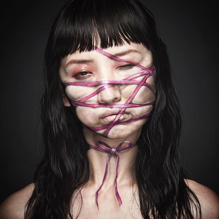 21張好萊塢等級「人體特效妝」沒P圖就長出4張臉