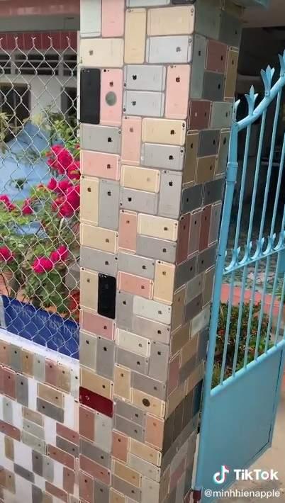 影/果迷「把哀瘋當磁磚」拚整面牆 側看嚇呆:不是貼紙...