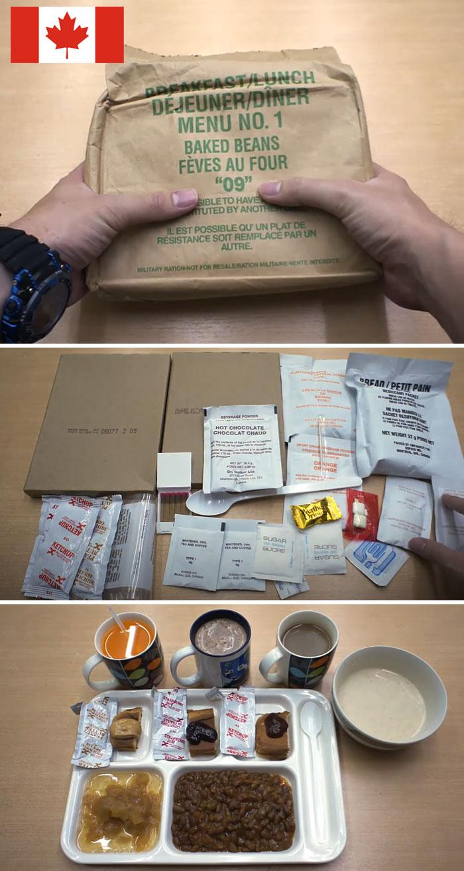 開箱「14國軍隊」戰備便當 中國「吃炒飯」竟是最窮酸的