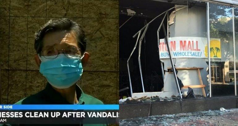 抗議「種族歧視」美國大暴動 竟燒毀「亞洲人開的店」示威!