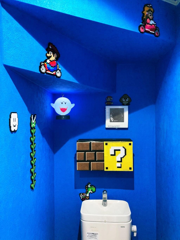 6旬爸把「瑪莉歐場景」搬進廁所 忍不住想「跳起來吃金幣」!