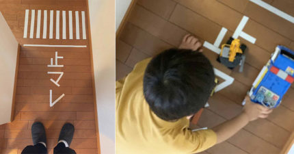 日本爸示範「如何讓兒子不在家中跑步」 網歪樓:台灣小孩不行XD