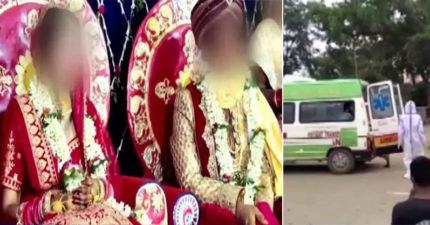 印度新人「硬要辦婚禮」搞場面 「80人確診」新郎2天就病逝!