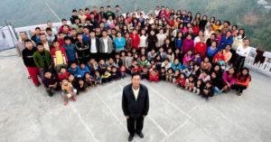 全球最大家庭!男子擁有「39老婆+94小孩」幸福喊:還想再娶