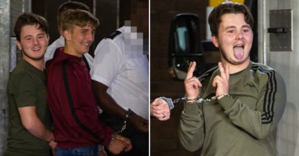 3屁孩「害死警察」出庭時「扮鬼臉比YA」家屬崩潰:判超輕!