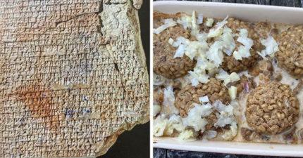 教授發現「楔形文字食譜」跟著做 還原「4千年前」古人的餐桌