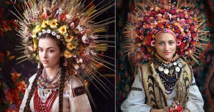 烏克蘭「傳統浮誇花冠」美到登國際 想用「溫柔」戰勝政治壓迫!