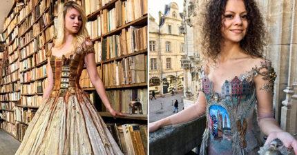 她打造「全世界只有一件」獨特禮服 把「小提琴」穿身上超唯美!